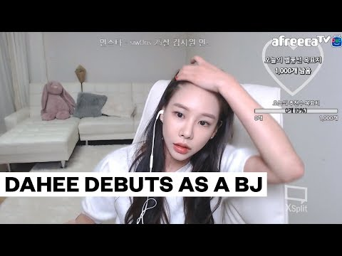 Xxx Mp4 Ex GLAM Member Dahee Who Was Involved In Lee Byung Hun 39 S Blackmail Controversy Debuts As A BJ 3gp Sex