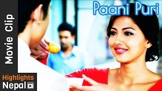 Paani Puri Movie Scene | DREAMS Nepali Movie Clip | Anmol K.C, Samragyee Rajya Laxmi Shah