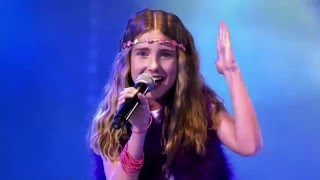 11-Year Old Anneleen Sings Mamma Mia & Makes Everyone Speechless  - Wow