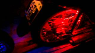 motos tuning 110 con audio y leds