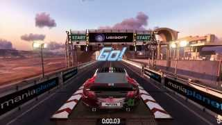 60fps 1080p Trackmania 2 Press Forward Test