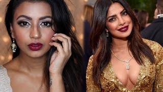 Priyanka Chopra Golden Globe Awards | Drugstore Makeup | MeeraMemeP