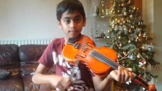 'Hridayathin Niramayi' 100 days of Love Anush Hydros (9) Violin Cover