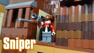 How To Build A Lego Team Fortress 2 Sniper