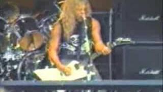 metallica - sanitarium(1986 - live with cliff burton)