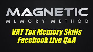 How To Memorize VAT Tax Law Facebook Live Q&A
