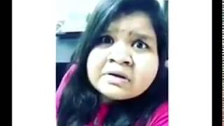Pragathi Vadivelu Dubsmash | Funny Tamil Dubsmash 2017 praginsta dubsmash
