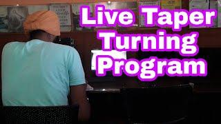 Live Taper Turning Programming