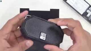 Altec Lansing Mini H2O Waterproof Bluetooth Wireless Speaker Unboxing & Review