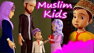 WELCOME  RAMADAN : ISLAMIC Life : KIDS CARTOON  : PART - 1