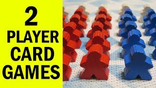Top 2 Player Card Games: Family Board Games & New Gamers