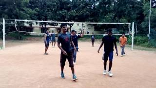 Comedy volleyball