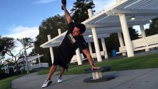The  Plank Row Combination   Tone Arms & Define Abs   Power Moves
