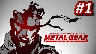 METAL GEAR SOLID (PS1) - Episodio 1: Infiltración en Shadow Moses    Gameplay Español PlayStation