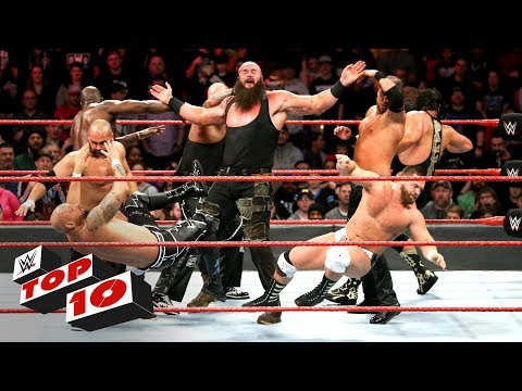 Xxx Mp4 Top 10 Raw Moments WWE Top 10 March 12 2018 3gp Sex