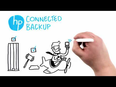 HP Connected Backup Mobile Data Protection Whiteboard