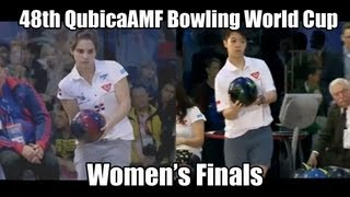 Aumi Guerra vs Shayna Ng - Women's Finals 2012 Bowling World Cup Poland
