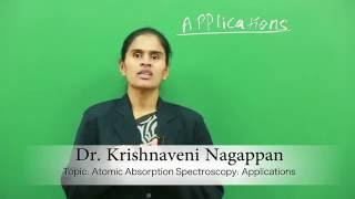 Atomic Absorption Spectroscopy : Applications