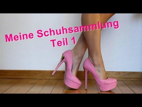 Meine Schuhsammlung TEIL1 3 My High Heels Shoe Collection PART1 3