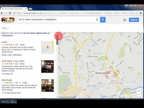 How to search Indian Restaurant Jobs in Google (Bangla)