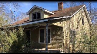 #67 Creepy Abandoned House Bones, bullet casings, Nintendo, fun place