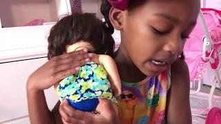 Baby Doll Bath and Baby Doli Washing Toys playtoys
