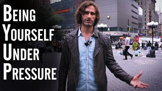 Being yourself under Social Pressure - James Marshall explains | #AskTheNaturals Ep. 21
