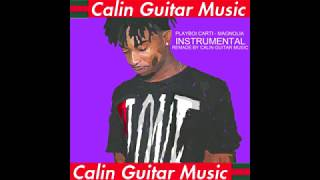 PLAYBOI CARTI - MAGNOLIA INSTRUMENTAL (REMADE BY CALIN GUITAR MUSIC) (VERY ACCURATE)