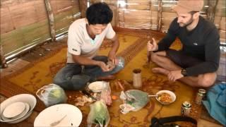 Cooking in Karen Village