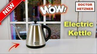 😍  DOCTOR HETZNER  ❤️   Electric  Kettle - Review     ✅