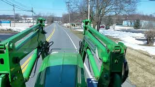 This will be the last video on the repair on the hydraulic leak John Deere 8320 tractor