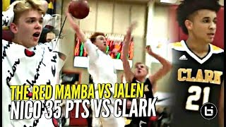 Nico Mannion 35 POINTS & NASTY DUNK ON DEFENDER! Pinnacle vs Jalen Hill & Nationally Ranked Clark!!