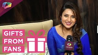 Divyanka Tripathi receives gifts from her fans