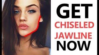 Get Perfect Jawline & Cheekbones - Reduce Facial Fat - Beauty Tips