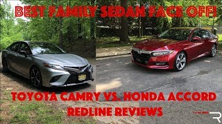 2018 Honda Accord Vs Toyota Camry – Redline: Comparison Test