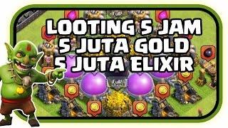 Cara Mudah Looting 5 Juta Gold dan Elixir Clash of Clans - COC INDONESIA