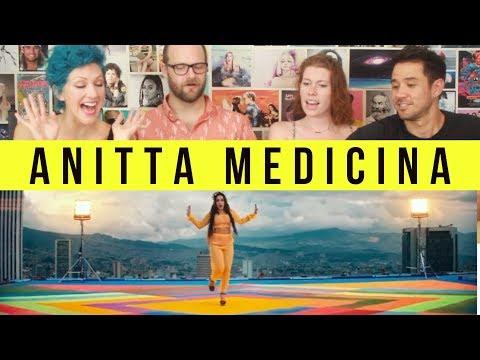 Anitta - Medicina - REACTION!