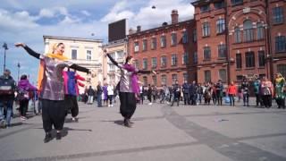 Namaste Russia. Bollywood flashmob in St-Petersburg by CHAKRI DANCE, may 2017