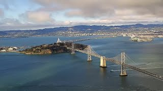 Timelapse: Salesforce Tower Camera View Of Bay Bridge, East Bay