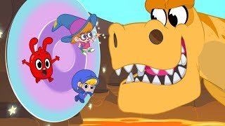 Morphle's Magic Portals - Magic Adventures with Friends (Fantasy Race cars and dinosaurs for Kids!