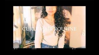 My natural curly/wavy hair routine // elizardbeth