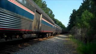 Amtrak's Carolinian #79 Outside of Durham, NC