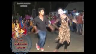 Bangladeshi holud dance performance at village wedding kothin dance