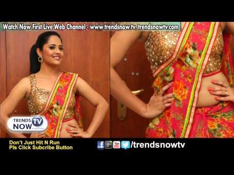 Anchor Anasuya Latest In Saree Stills |  Telugu Actress Images