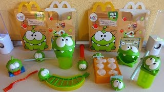 2014 Cut the Rope Hungry For Fruit Toys Complete Set in Happy Meal McDonald