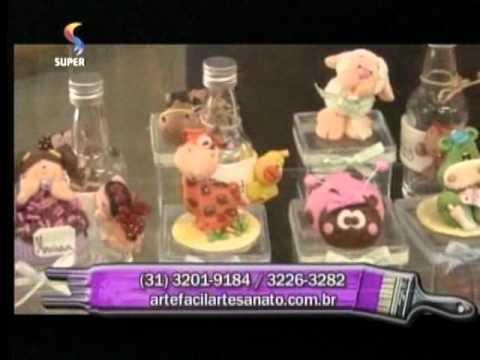Arte Fácil Bonecas em EVA Crys Silva Hora de Arte