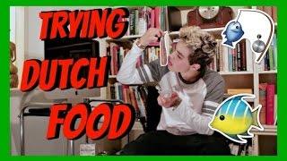 TRYING DUTCH FOOD!