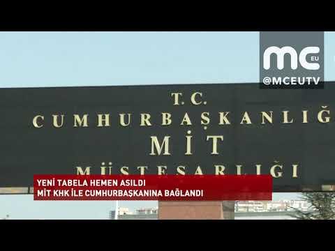 Haber | MİT, KHK ile Cumhurbaşkanı'na bağlandı, yeni tabela hemen asıldı!
