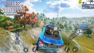 NEW CAR TROLLING! *BATTLE ROYALE ON YOUR PHONE!* | Rules of Survival