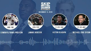Cowboys/Rams preview, Lamar Jackson, Victor Oladipo, Michael Eric Dyson | UNDISPUTED Audio Podcast